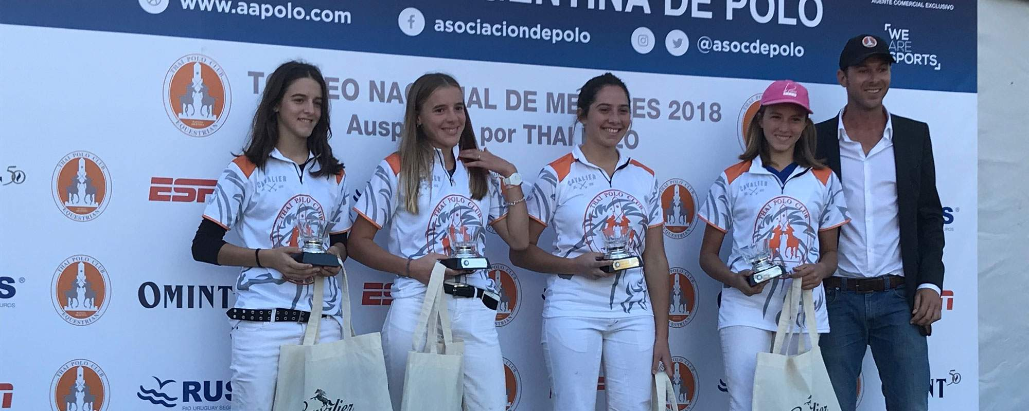 THE SOFIA QUATRO VIENTOS winner of the AAP National Youth Championship 2018 - Category Juvenile Female